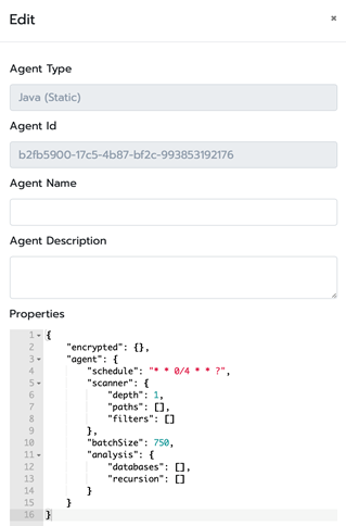 a screenshot of CodeLogic's agent registration form view